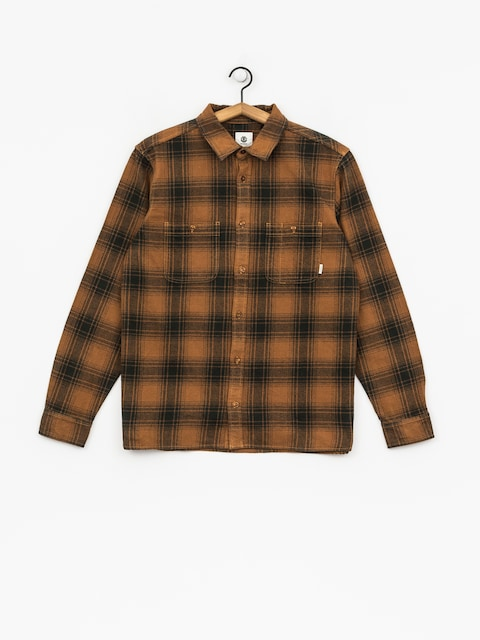 Element Hemd Miller Ls (goldenbrown)