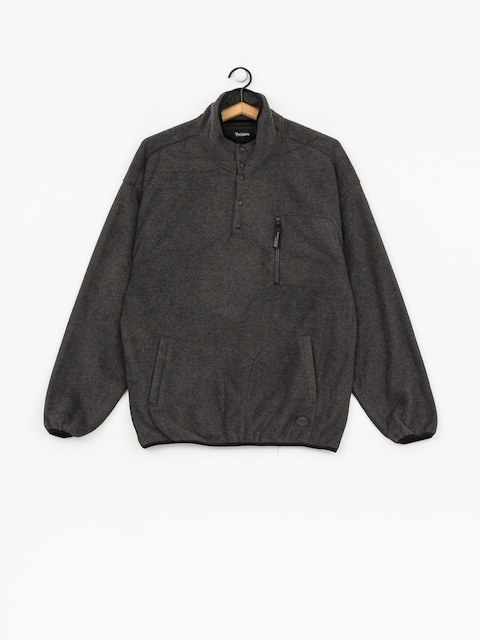 Brixton Fleece z kapturem Higgins HD (heather/black)
