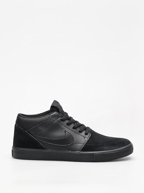 Nike SB Shoes Sb Solarsoft Portmore II Mid (black/black black anthracite)