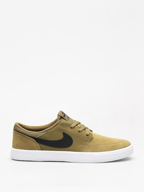 Nike SB Sb Solarsoft Portmore II Shoes (olive flak/black black white)