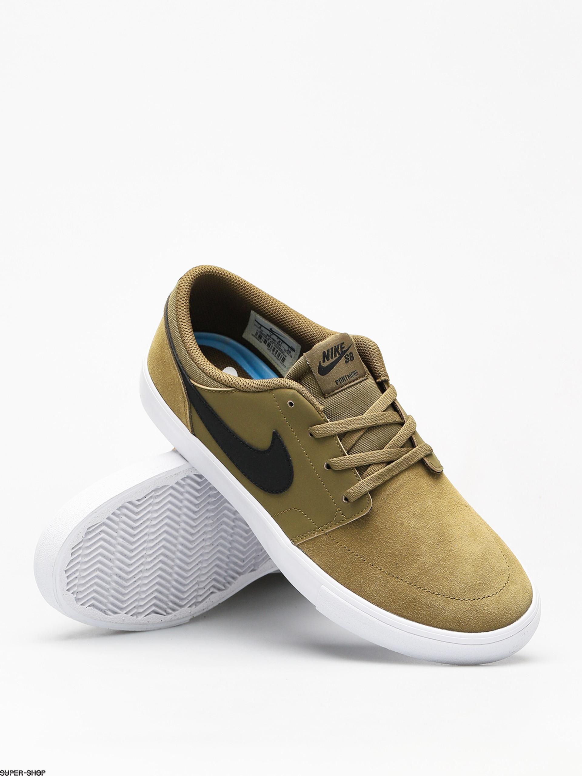 Shoes Black Sb Flakblack White Ii Portmore Nike Solarsoft Olive Tz8u8w 7gyb6Yfv