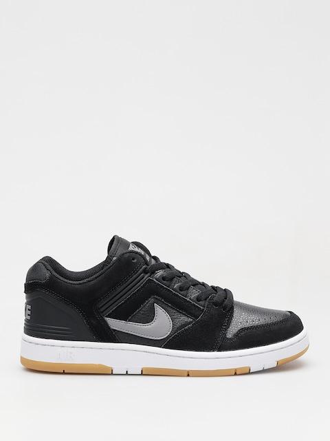 Nike SB Shoes Sb Air Force II Low (black/gunsmoke white gum light brown)