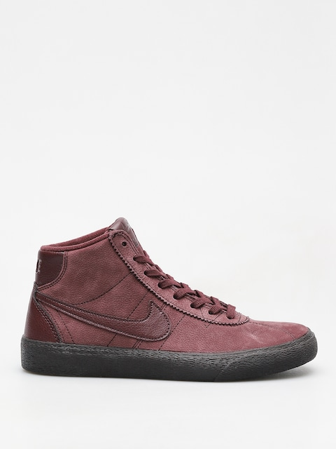 Nike SB Schuhe Sb Bruin High Premium Wmn (burgundy crush/burgundy crush)