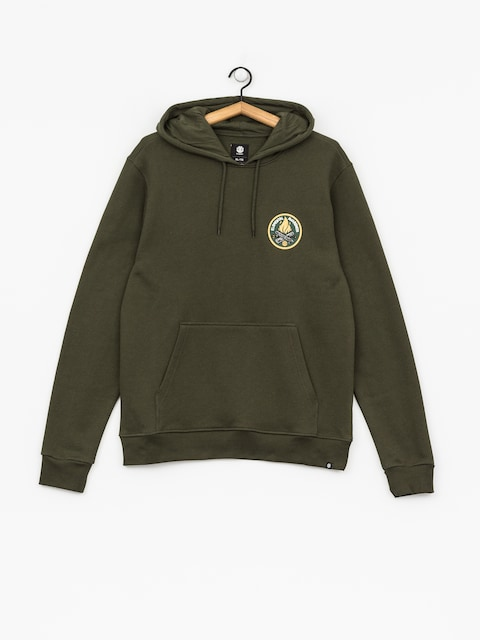 Element Hoody Ea Logo Printed HD (olive drab)