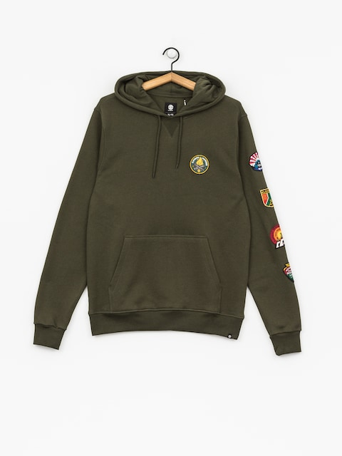 Element Hoodie Ea Patched HD (olive drab)