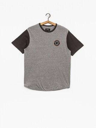 Brixton T-shirt Forte III Knt (heather grey/washed black)