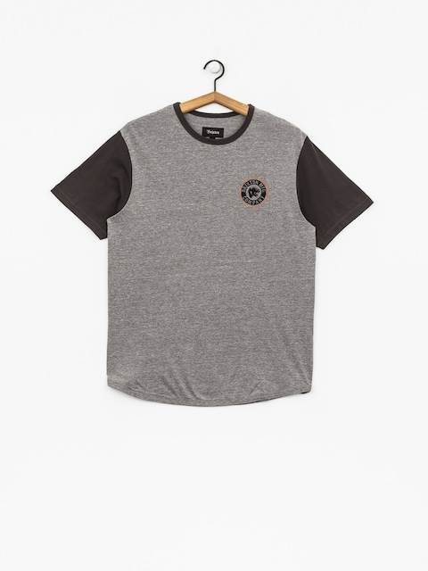 Brixton T-Shirt Forte III Knt (heather grey/washed black)