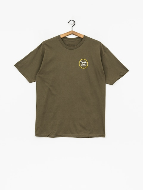 Brixton T-shirt Wheeler II Stnd (olive)