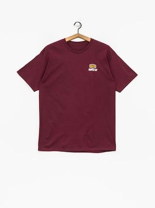 Brixton T-Shirt Slade Stt (burgundy)