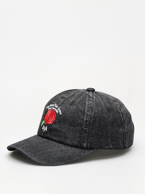 DGK Cap Bloom Denim ZD (black)