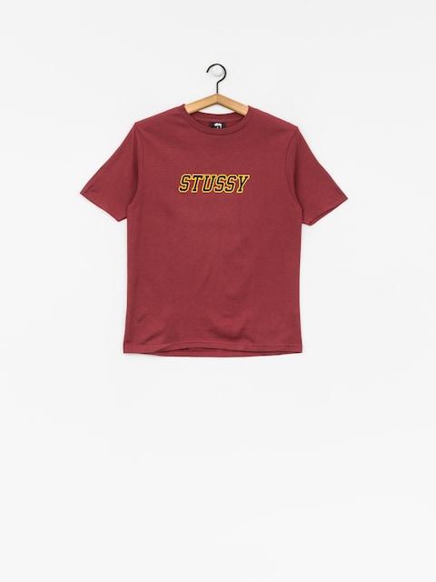 Stussy T-shirt College Tee Wmn