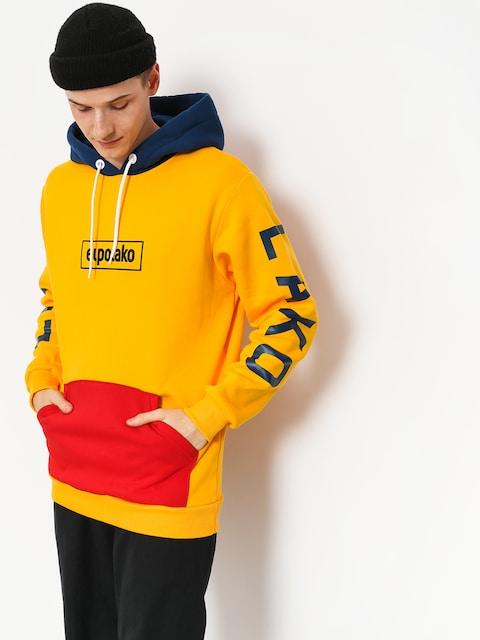 El Polako Hoodie Cons HD (yellow)