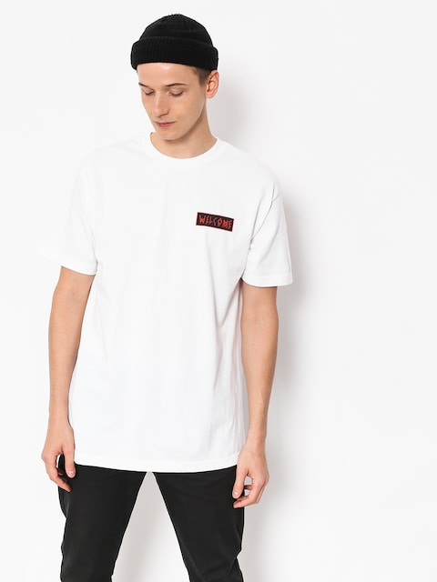 Welcome T-shirt Balance (white/black/red)