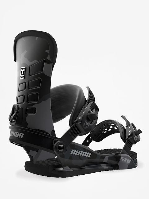 Union Snowboard bindings STR (black camo)