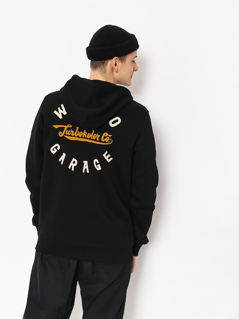 Turbokolor Hoodie Weirdo Garage ZHD (black)