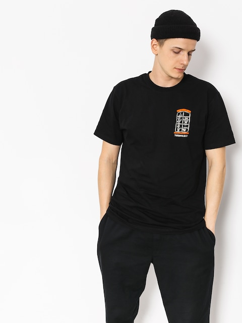 Turbokolor T-shirt Window (black)