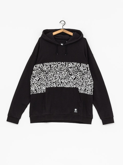 Element Hoodie Kh Panel Pop HD (flint black)