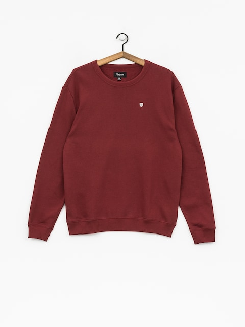 Brixton Sweatshirt B Shield Crew (burgundy)
