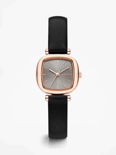 Komono Uhr Moneypenny (black rose)