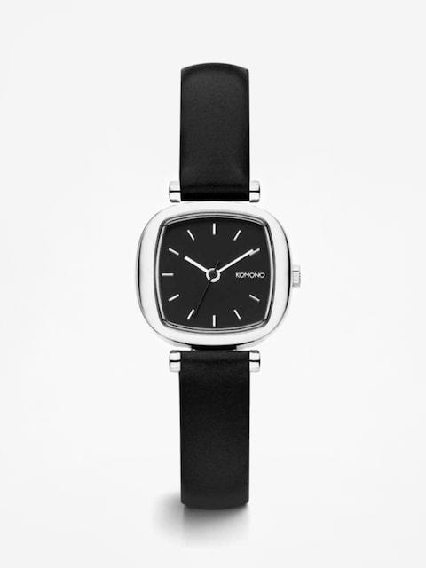 Komono Uhr Moneypenny (black/sivler)