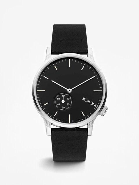 Komono Uhr Winston Subs (black/silver)