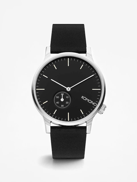Komono Watch Winston Subs (black/silver)