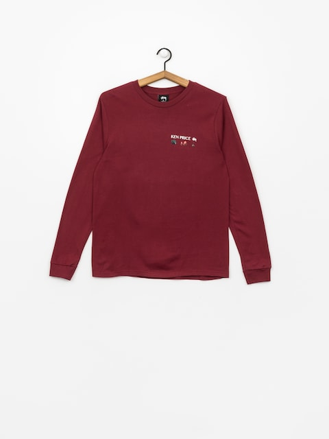 Stussy Longsleeve Imaginary Spaces Ls Tee Wmn (wine)