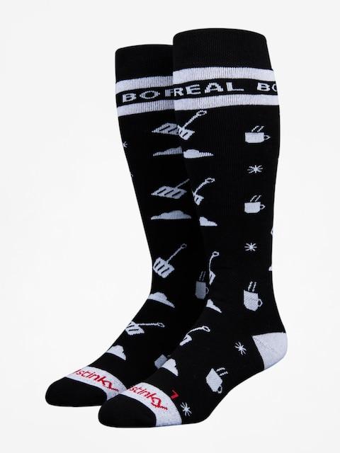 Stinky Socks Socken Boreal Mountain (black/white)
