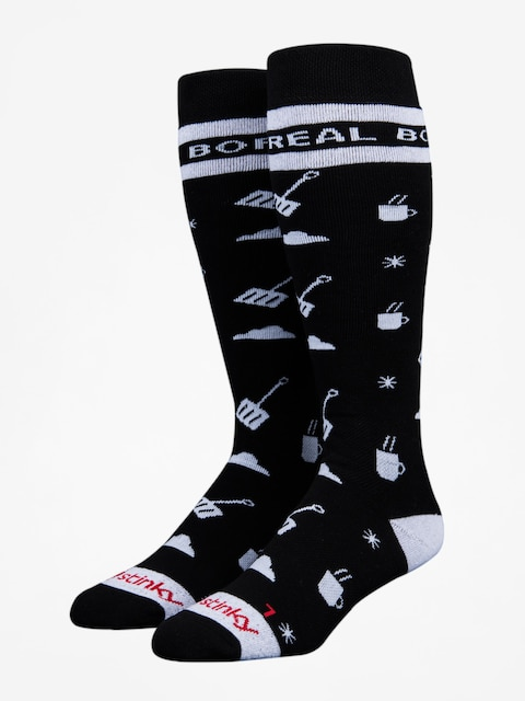 Stinky Socks Socks Boreal Mountain (black/white)