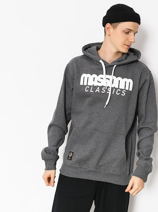 MassDnm Hoodie Classics HD (dark heather grey)