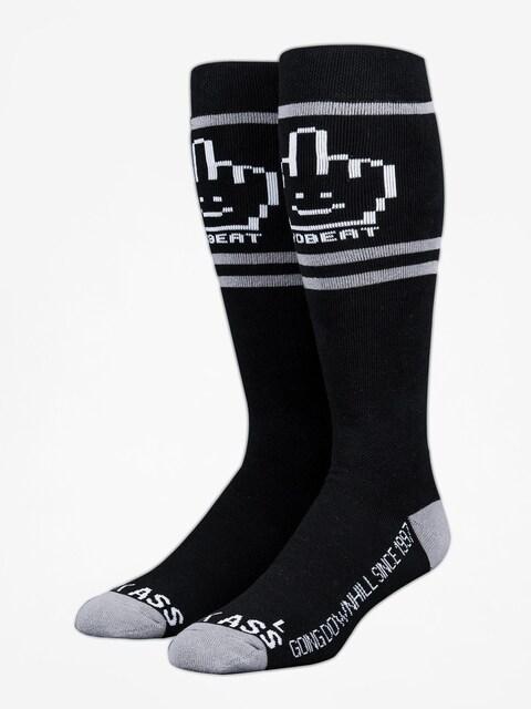 Stinky Socks Socken Yobeat Collab (black/grey)