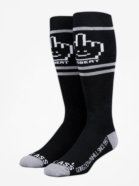Stinky Socks Socks Yobeat Collab (black/grey)