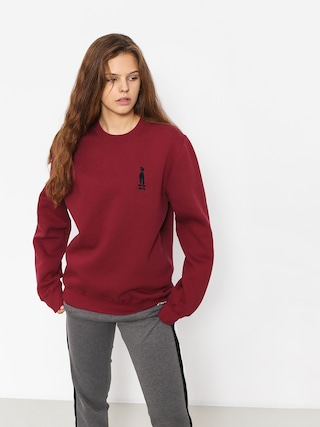 Stussy Sweatshirt Raggamon Wmn (wine)