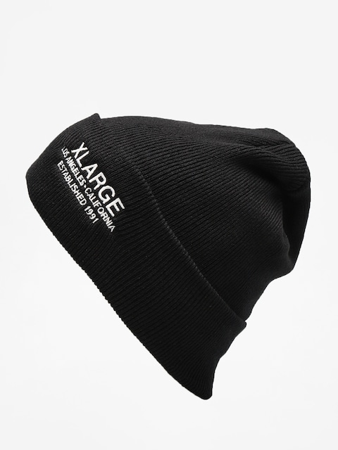 XLARGE Beanie Established Cuffed (black)