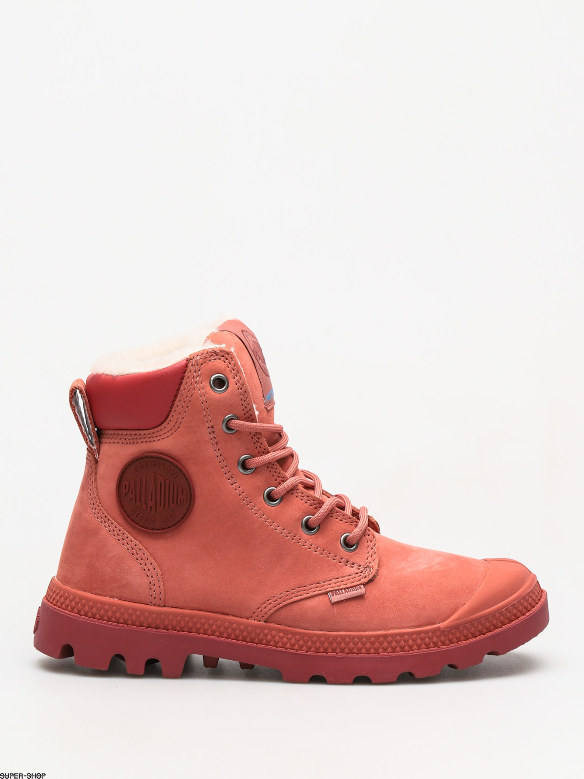 Palladium Shoes Pampa Sport Wps (brick dust cowhide) f434c1eb6bc