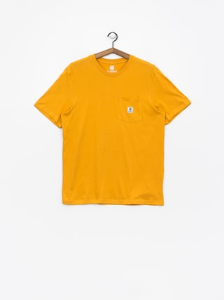 Element T-shirt Basic Pocket Label (mineral yellow)