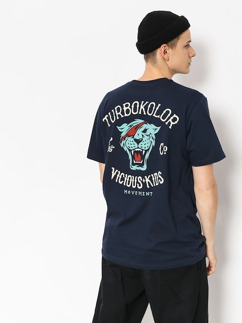 Turbokolor T-shirt Vicious Kids (navy)