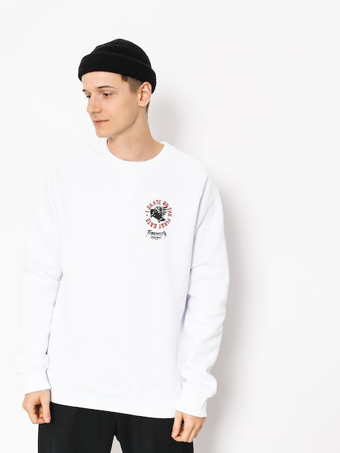 Turbokolor Sweatshirt First Date (white)