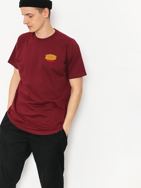 Turbokolor T-shirt Vintage Logo (burgundy)