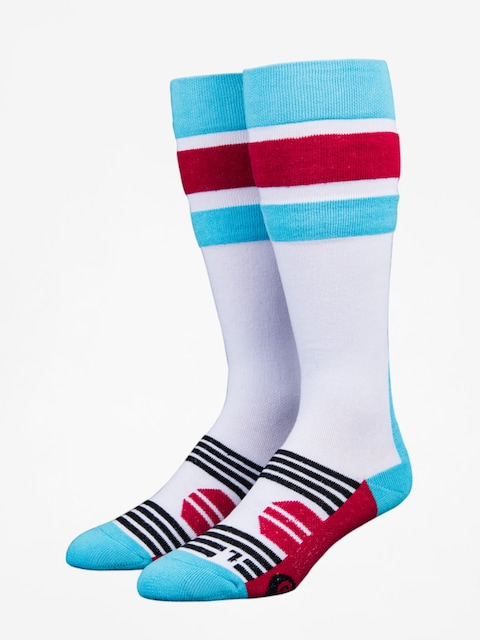 Stinky Socks Socks Stripe (white/blue/red)