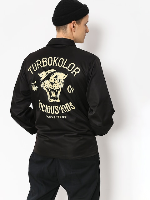Turbokolor Jacket Herald Vicious Kids (black)