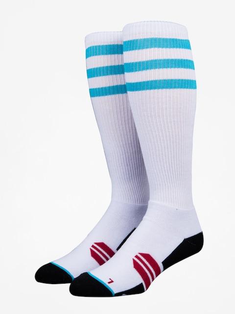 Stinky Socks Socken Three Stripes (white /blue)