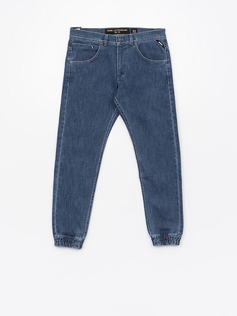 MassDnm Pants Base Jogger Jeans Sneaker Fit (blue)