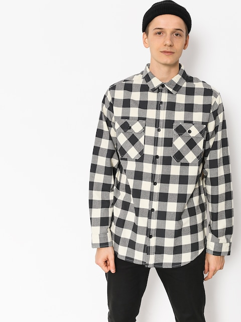 Burton Shirt Brighton Flnl (canvas htr buffalo)