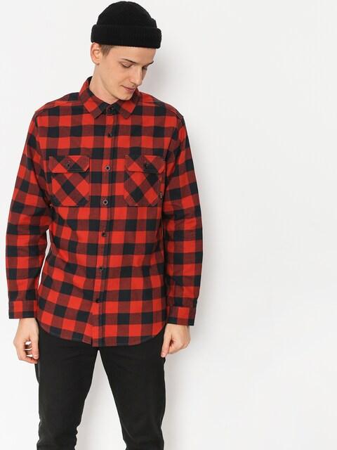 Burton Shirt Brighton Flnl (bitters htr buff pld)