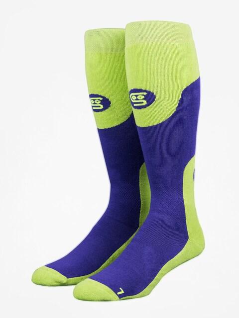 Stinky Socks Socken Purple Haze (purple/green)