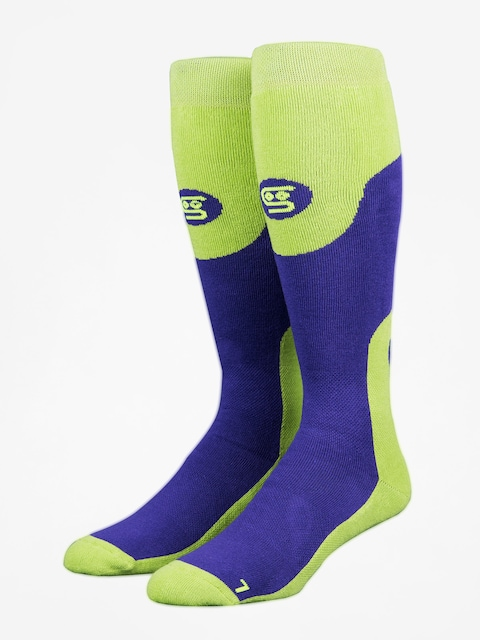 Stinky Socks Socks Purple Haze (purple/green)
