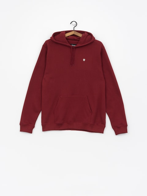 Brixton Hoody B Shield Intl HD (burgundy)