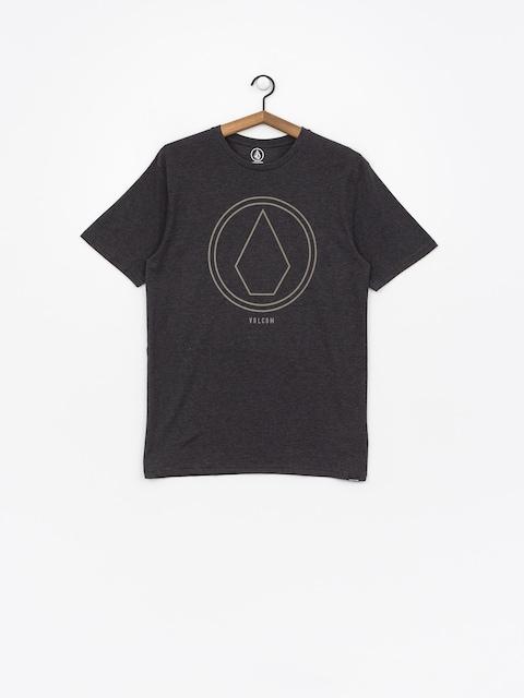 Volcom T-Shirt Pinline Stone Hth (hbk)