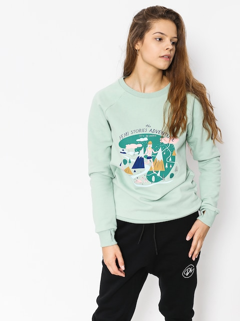 Femi Stories Sweatshirt Tera Wmn (mnt)